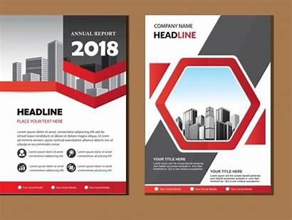 Vector Poster Background Report Modern A4 Brochure