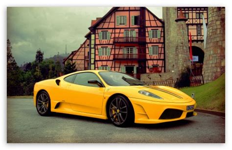Yellow Ferrari Wallpaper On Wallpaperget.com