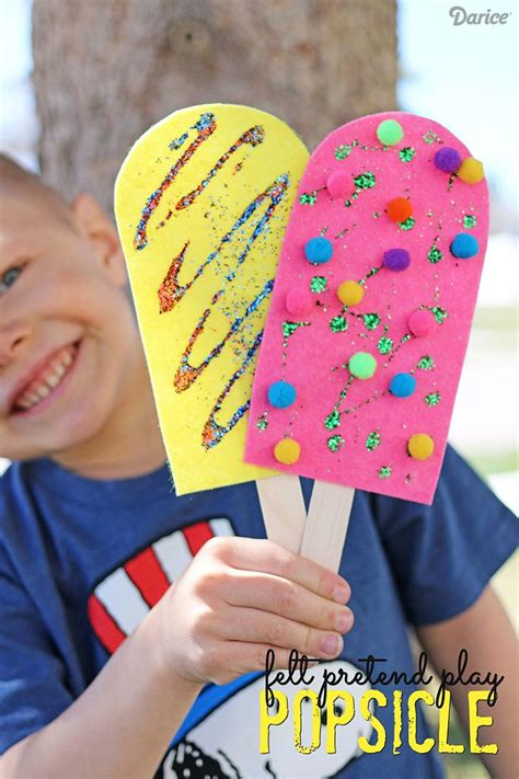 236 best images about preschool summer crafts on 717 | 7fe7d57f1b3d1cbec8477b9bbc0259f9 popsicle crafts craft kids