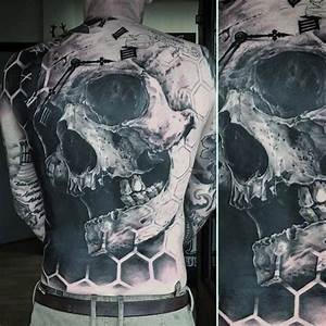 50 awesome back tattoos for masculine design ideas