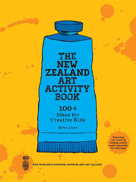 zealand art activity book  ideas  creative