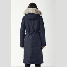 Luxury Designer Admiral Blue Canada Goose Parkas Elrose