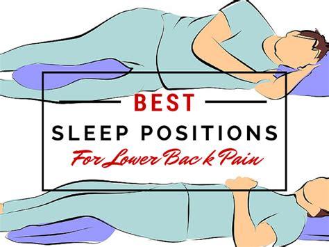 sleep positions  fix    pain