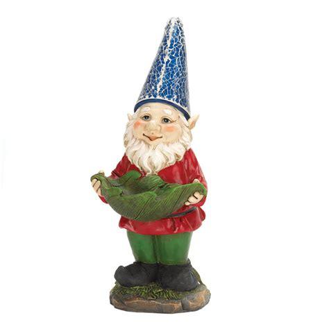 bird feeder gnome solar garden statue wholesale at koehler