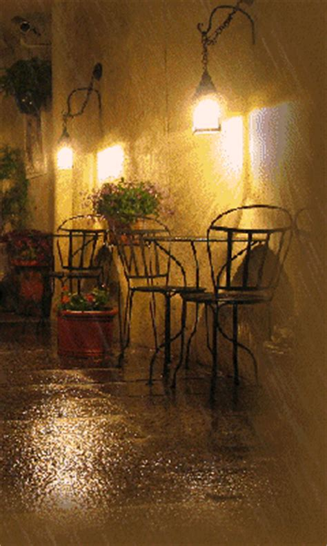 cafe rain pictures   images  facebook
