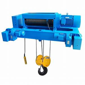 Abc Of Wire Rope Electric Hoists