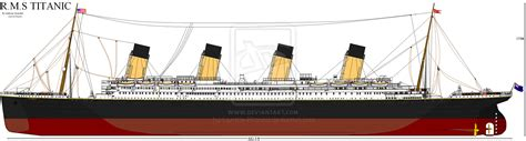 Port Side Of Boat Is What Color by Rms Titanic Port Side By Eclair On Deviantart