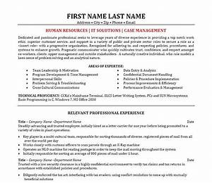11 best best it manager resume templates samples images With case manager resume examples