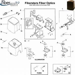 Fiberstars Fiber Optics 6004  6008  6004