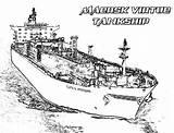 Coloring Aircraft Carrier Ship Maersk Virtue Tankship Navy Sky Coloringsky sketch template