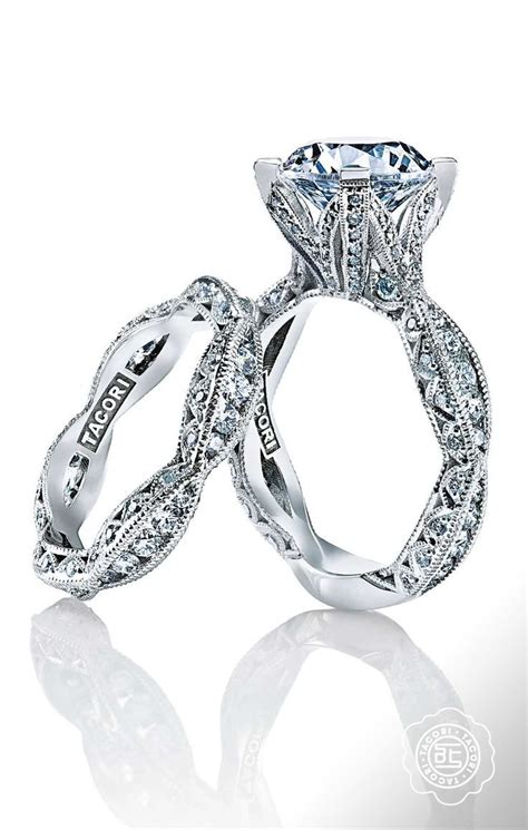 perfection these just might be the prettiest engagement rings ever the tacori royalt