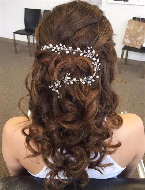 Wedding Hairstyles Updos With Curls by Half Up Half Wedding Hairstyles 50 Stylish Ideas