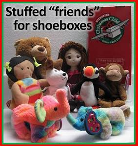 Simply Shoe Boxes Why we pack Stuffed Animals in all our
