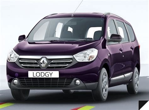renault lodgy renault lodgy mpv launched prices and details