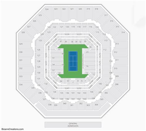 Arthur Ashe Stadium Seating Chart Seating Charts Tickets