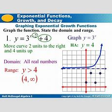 Exponential Functions,  Ppt Video Online Download