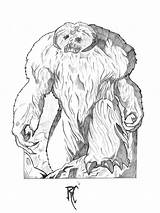 Wampa Draw Anime Blush Wars Star Coloring Pages Template Rob Something Sketch Templates Elrod sketch template