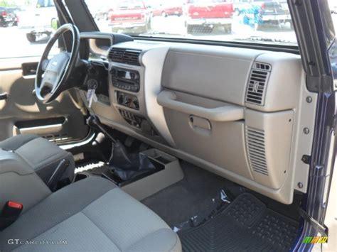 jeep golden eagle interior khaki interior 2006 jeep wrangler sport 4x4 golden eagle