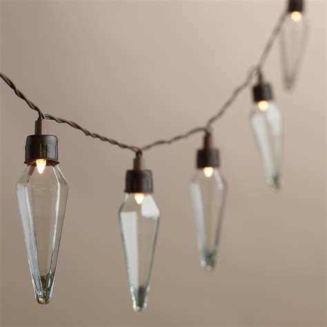 clear prism solar led 20 bulb string lights world market