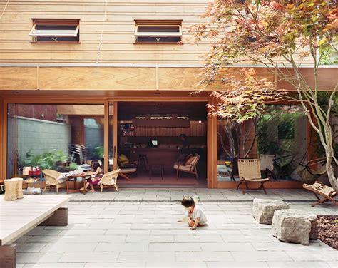 courtyards bring indooroutdoor living   modern
