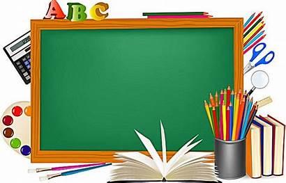 Background Blackboard Clipart Boards Escola Clip Border