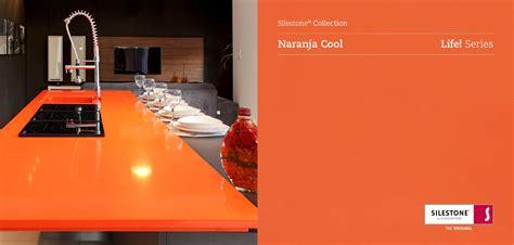 silestone naranja cool silestone collection encimeras