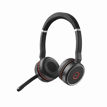 Jabra Evolve Headset Stereo Ms Headsets Office