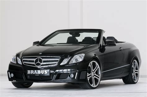 convertible mercedes black brabus does the new mercedes benz e class convertible