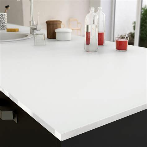 plan de travail cuisine en verre plan de travail sur mesure verre laqué blanc ep 15 mm