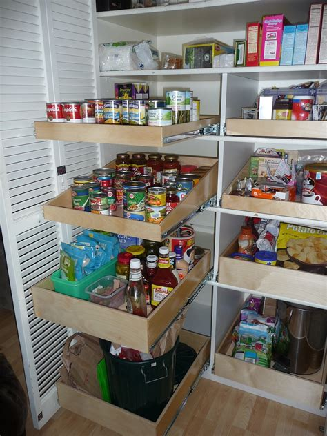 Organizer Pantry Shelving Systems For Cluttered Storage