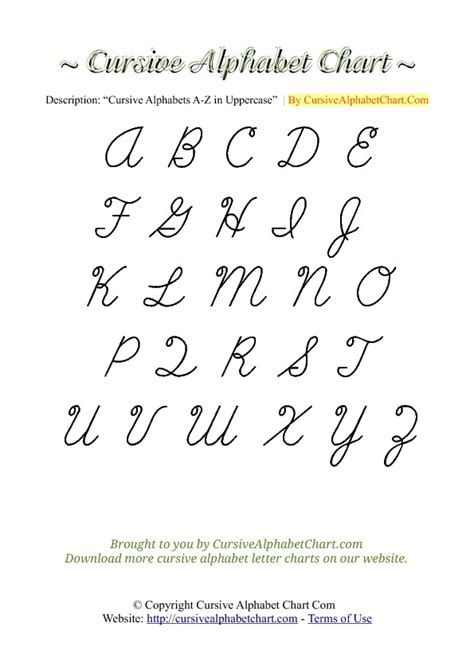 all cursive letters cursive letters a z worksheets for all and 48546