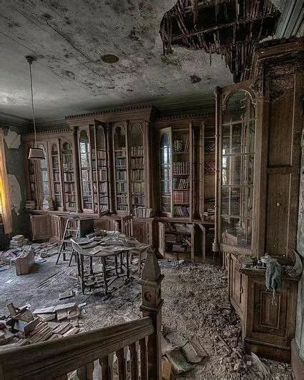 library    century victorian mansion scenic