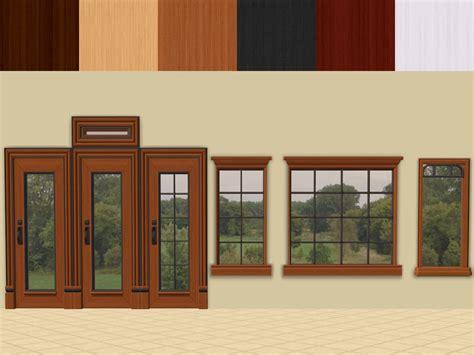 Door-Window : Mod The Sims-ofb Euro Door And Window Recolours