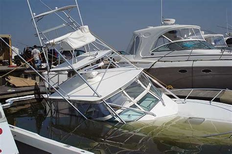 How To Winterize Boat Sink by When It Rains Boats Sink Seaworthy Magazine Boatus
