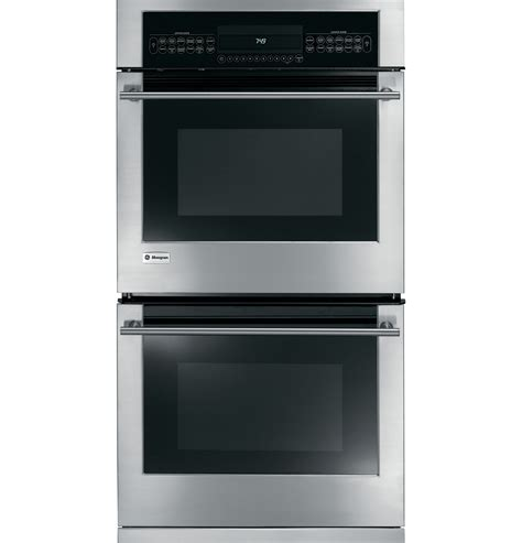 ge monogram  built  electric double oven zeksmss ge appliances