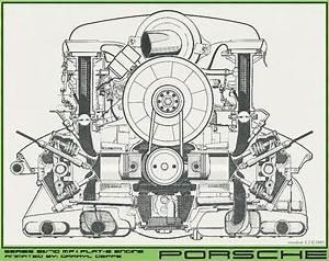 Motor Porsche Boxer