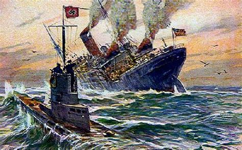 Why Did Germany Sink The Lusitania maritime disasters