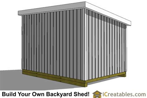 10x20 Storage Shed Plans by 10x24 Lean To Shed Plans Icreatables