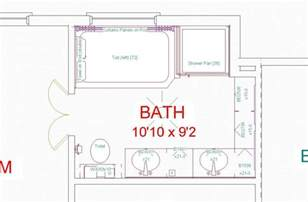 bathroom floor plan layout bat remodeling floorplans 5000 house plans