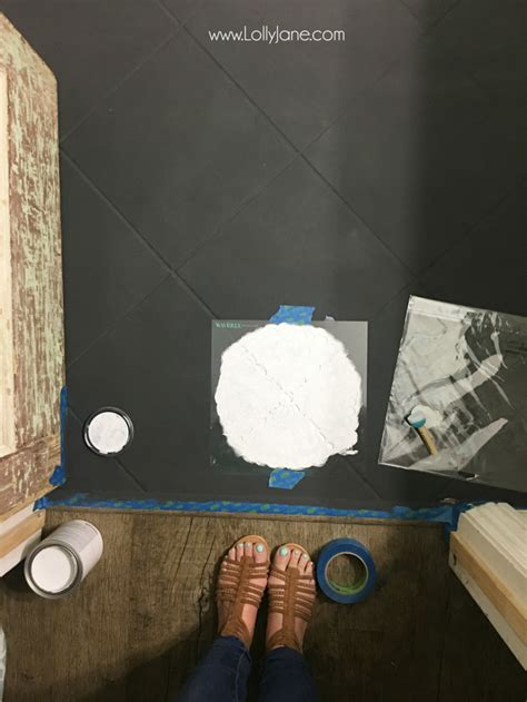 hate  tile floors paint  lolly jane