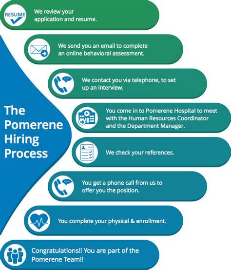 hiring process pomerene hospital