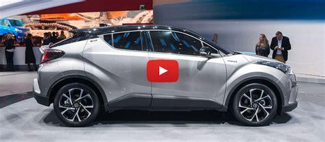 Presentazione Del Nuovo Toyota C-hr Al Salone Di Ginevra