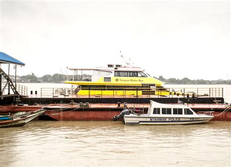 Yangon Boat Service by Two Catamarans From Australia Arrive For Yangon Water