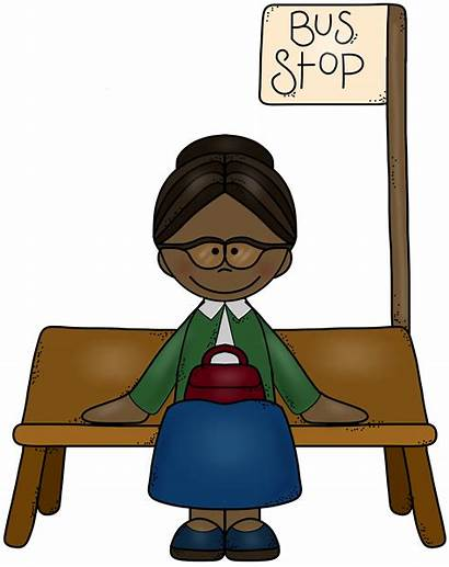 Rosa Parks Bus Clipart Drawing Clip History