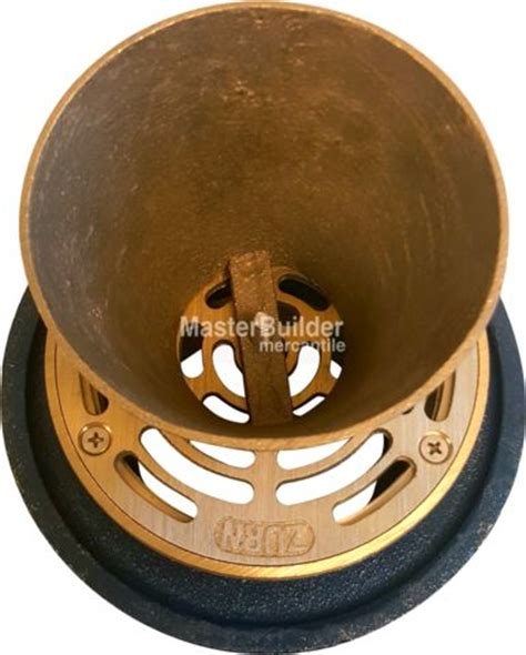jr smith floor drain funnel zurn zn211 5be p non membrane funnel floor drain w medium