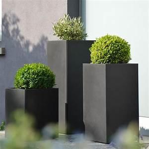 Pflanzen Kübel Beton : jan kurtz planter pflanzk bel schwarz jan kurtz m bel shop ~ Markanthonyermac.com Haus und Dekorationen