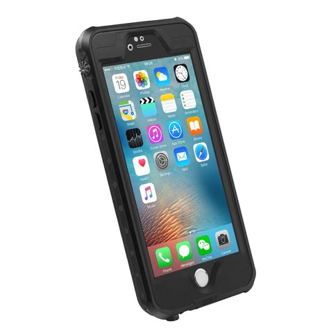 dropped iphone and screen is black waterproof cover scratchproof drop resistant touch
