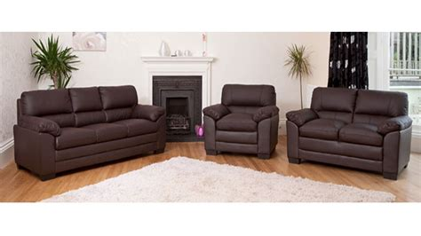 2 Leather Sofa Set by Leather Sofa 1 2 3 Seater In Black Brown Homegenies