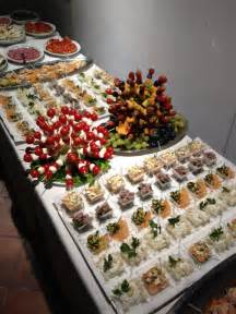 Finger Foods Buffet Table Ideas