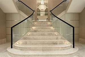 Marble Stairs Staircase — TEDX Decors : The Luxury of